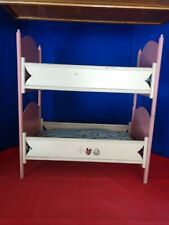 Vintage Double Doll Bed With Matresses