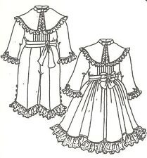"""Boy & Girl Doll Dress pant out fit 17 - 18"""" Pattern Victorian German French 370"""