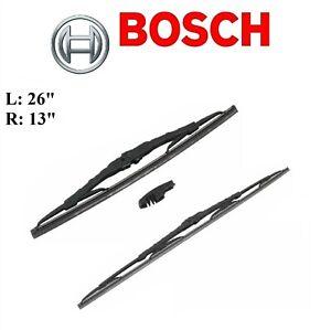 2PCS BOSCH FRONT D-Connect Wiper Blade For SUZUKI SX4 07-13/SX4 CROSSOVER 2012