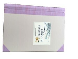 "French Recipe Book ""mon Cahier De Recettes"""