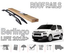 Barres de toit longitudinales Citroen Berlingo III 18> Live court noir