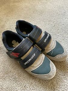 Specialized Sport Suede Mountain Bike Cycling Shoes Men's Size 41 / US 8.5