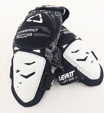 Leatt Knee Guard 3DF Hybrid Knee Protectors WHITE MOTOCROSS ENDURO MX, XL