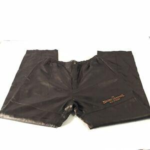 J.C. Freeman & Sons The Negro Leagues All Stars Leather Pants 3XL Black