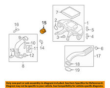 BMW OEM 09-13 X5-Mass Air Flow Sensor 13628509725