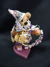 "World of Miniature Bears 3"" Plush Bear Hoopla #1011 Collectible Miniature Bear"