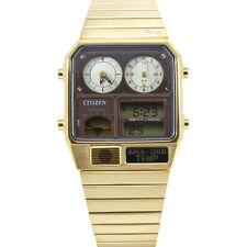 Citizen JG2002-53W Gold Vintage Temperature  Men's Digital Watch