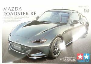 Tamiya 1/24 Mazada MX-5 Roadster RF Car Assembly Model #24353