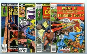 What If (1977 series) #11,13,21,24 Avg VF New Marvel Collection