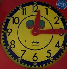 The Original Judy Clock Learn to Tell Time,089863080403