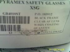 Pyramex XSG Bifocal Safety Goggle  Black Frame Clear Anti-Fog Lens # GB4010ST