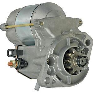 Starter for Kubota M5700Sdn-F S-F, Thomas Equipment Skid Steer T233; 410-52139