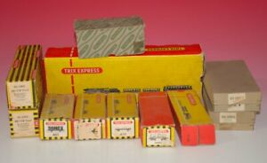 diverse TRIX Express Original Leerkartons * Nachkrieg