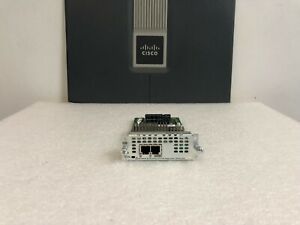 Genuine Cisco NIM-2FXS 2-Port FXS Analog Voice Fax Network Interface Module 2FXS