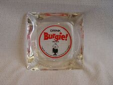 Old Drink Burgie Beer Theodore Hamm Co. Glass Advertising Ashtray