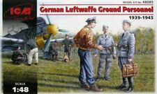 ICM GERMAN LUFTWAFFE GROUND PERSONNEL 1939/1945 1:48 48085