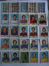 LOTTO DI 39 FIGURINE CALCIATORI PANINI CAMPIONATO 73-74