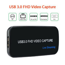 USB 3.0 FHD 1080P 60FPS Drive-free Video Capture Live Streaming For PS3 PS4 XBOX