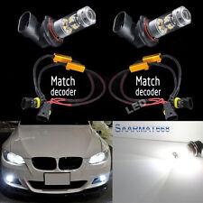 2x 9006 HB4 1400LM LED Fog Driving Light No Error For BMW E60 E63 E64 E46 330ci