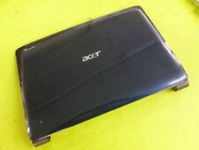 Acer Aspire 6530 6930 Top Back Cover Plastic Lid Blue EAZK2029010 w/anntenas+ we