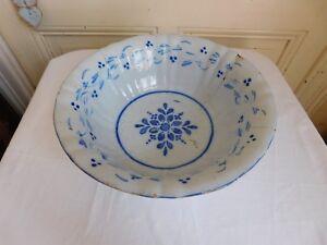Jatte Earthenware Restoration Antique Decor Floral Origin Tbd
