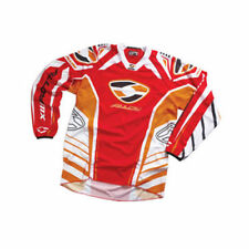 Maillots de cross rouges Alloy