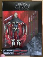 """Star Wars Black Series General Grievous 6"""" Revenge of The Sith New IN STOCK Mint"""