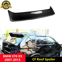 X5 Roof Spoiler Carbon Fiber Trunk Wings for BMW E70 X5 SUV 2007-2013 HAM Style