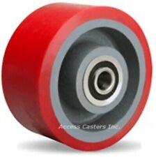 "W-630-TRB-3/4 6"" x 3"" Ultralast Polyurethane on Cast Iron Wheel 2600 lb Capacity"