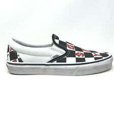 Vans Classic Slip On Vivienne Westwood Checkerboard Women's 8 Skate Shoes New
