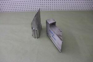 05 2005 CADILLAC XLR  4.6 FRONT BUMPER REINFORCEMENT BRACKET SUPPORT LEFT RIGHT
