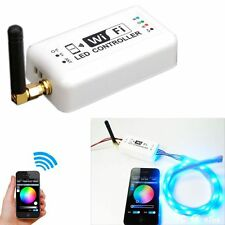 WiFi RGB Controller LED Strip Wireless Switch Smart phone Remote for Android/IOS