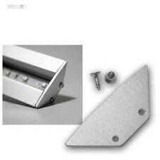 bloc d'extrémité pour Aluminium-profilé d'angle-T pas pour tout voir
