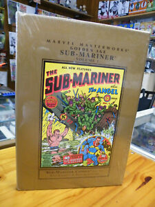 MARVEL MASTERWORKS, G.A. SUB-MARINER V1, SEALED HARDCOVER