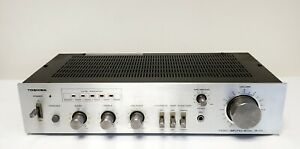 TOSHIBA SB-225 STEREO INTEGRATED AMPLIFIER *NO POWER* *SPARES AND REPAIRS*