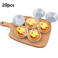 10pcs Nonstick Egg Tart Mold Cupcake Muffin Ripple Baking Cup  Egg Tart Holder