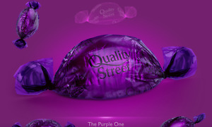 THE PURPLE ONE BY QUALITY STREET CHOOSE YOUR AMOUNT DATED 08/22 XMAS GIFT IDEA