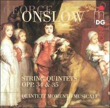 Onslow: String Quintets Op 34 & 35, New Music