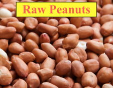 RAW SPANISH PEANUTS WITH RED SKIN, Premium, Natural, No Additives, US SELLER