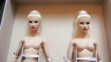 """Nude Fashion Royalty FR2 NuFace Agnes Giselle: Sister Moguls 12"""" Doll New!!!"""