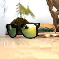 Wooden Vintage Sunglasses Men Women Wood SunGlass Retro Polarized Eyewear Glass