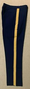 US Army ASU Men's Dress Braided Trousers Pants DSCP Size-34R BRAND NEW
