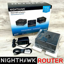 New Netgear Nighthawk AX1800 WiFi 6 Dual Band MR60 Mesh Router System 1 Pack
