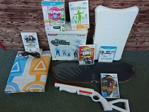 Original Wii / Wii U Zubehör Remote, Game Bundles, Wii Fit, Nunchuks