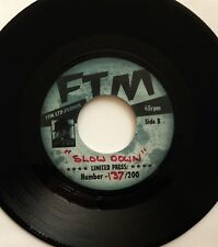 Slow Down-Freddy Ryder-make love to you-ALEX HARVEY-supprimé FTM British