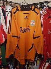 Liverpool Football shirt 2006/07 gardien de but GK L ~ Reina 25 Champions League