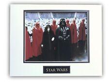 STAR WARS DARTH VADER EMPEROR PALPATINE MATTED LICENSED 8X10 PHOTO FRAME 11X14