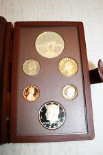 1984 Olympic Prestige Set Silver $1, Half $1, Quarter, Dime, Nickel, Penny PROOF