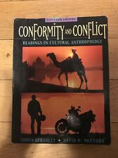 Conformity And Conflict: Readings In Cultural Anthropology James Spradley 2003