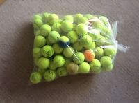 15 Used Tennis Balls For Dogs- All Washed By M&H 10% to Dog Charity, Thank You!